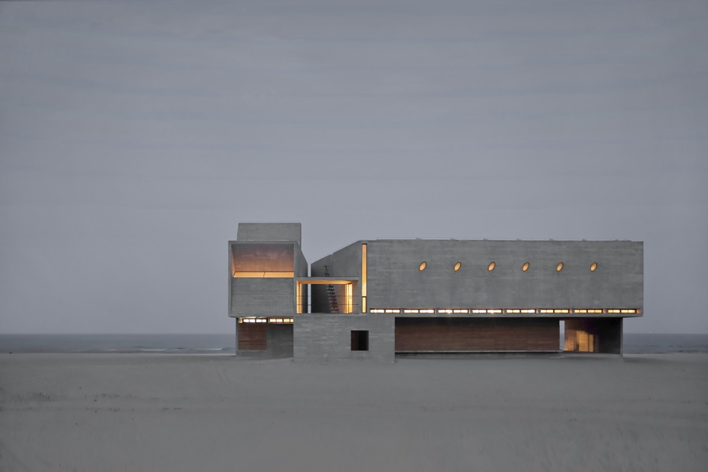 vue-nuit-vector-architects-gong-dong-seashore-librairie-beidaihe-new-district